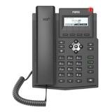Telefone Ip 2 Linha Sip Fanvil Small Business Display X1s