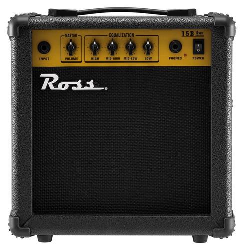 Ross B15 Amplificador Para Bajo De 15w