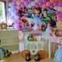 Decoração De Festa Princesa Sofia Montada Com Arco De Balões Original