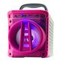 Caixa De Som Grasep Al-301 Portátil Com Bluetooth  Roxa Original