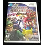 Super Smash Bros Brawl Nintendo Wii Americano Completo Original