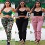 Calça Feminina Jogger Bengaline Bolso Cordão Blogueiras Moda Original