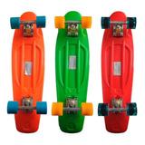 Skate Estilo Penny Varios Colores Patineta Deporte Atrix ®