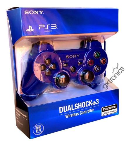 Joystick Inalambrico Sony Dualshock 3 Wireless Ps3 Blue