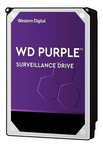 Disco Duro Western Digital 2tb Wd Video Vigilancia Púrpura