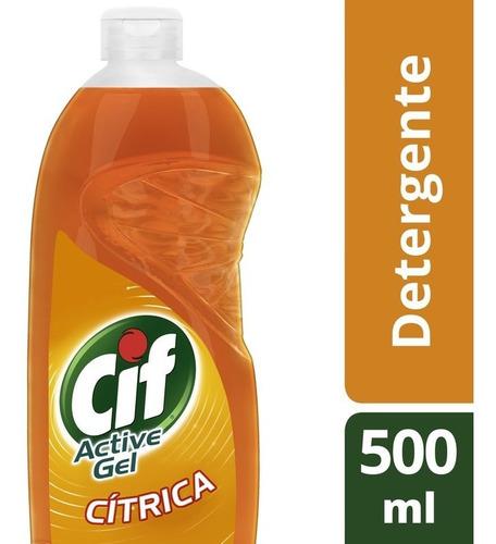 Cif Active Gel Ultra Pod.deseng. Citrica Pote 500 M