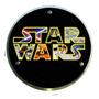 Lustre Placa Quadro Decorativo Star Wars - Diversos - 26 Cm Original