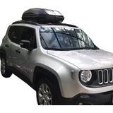 Barras Portaequipaje + Valija De Techo Para Jeep Renegade