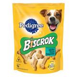 Petisco Para Cães Adultos Raças Pequenas Leite Pedigree Biscrok Pouch 1kg