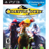 G1 Jockey And Gallop Racer Ps3 Original Carrera Caballos