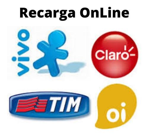 Recarga Celular R$15 Credito Online