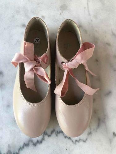 Zapatos Guillermina  Nena Cuero Divinos!!