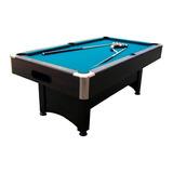 Mesa De Pool Con Devolución De Bolas - Paño Verde O Azul