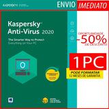 Kaspersky Anti-virus 1 Pc 1 Ano Envio Imediato Original