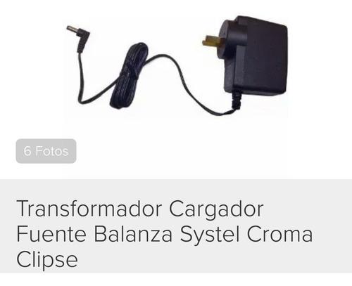 Cargador/transformador Balanza Systel Croma