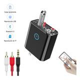 Cargador De Pared Con Adaptador De Audio Bluetooth 5.0
