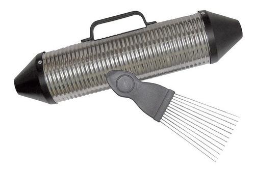 Guiro Torpedo Cerrado Con Peine Raspador. Percusion - Cumbia