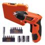 Parafusadeira Bateria 4,8v Kit 16 Pçs E Maleta Black+decker Original