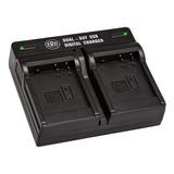 Dmw-blg10 Cargador De Batería Dual Para Panasonic Lumix...