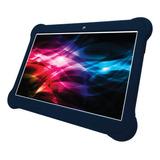 Tablet  Con Funda Enova 10  Metal 10  16gb Azul Con Memoria Ram 2gb