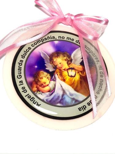 Medalla Cunero Angel De La Guarda Nena Nene
