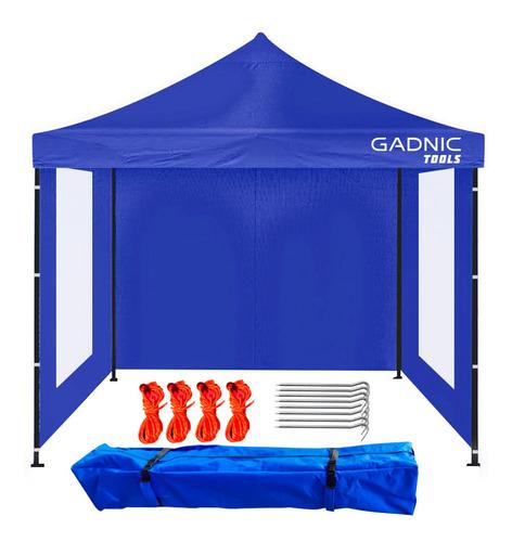 Gazebo 3x3 Plegable Portatil + Bolso Transporte Y Estacas