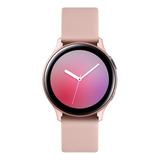 Samsung Galaxy Watch Active2 (bluetooth) 1.4  Caja 44mm De  Aluminio  Pink Gold Malla  Pink Gold De  Fluoroelastómero Y Bisel  Pink Gold Sm-r820