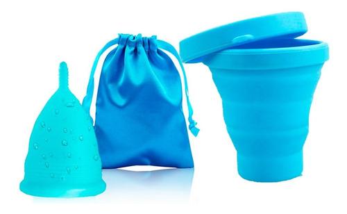 Copa Menstrual Certificada Fda + Vaso Esterilizador