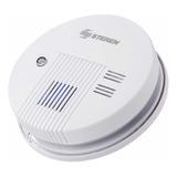 Sensor Detector De Humo Alarma + Batería 9v Conexión 110v