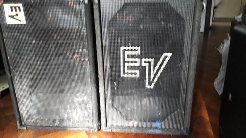 Cajas Vacias Electrovoice Exponenciales P/ Parantes 10'