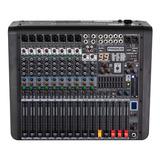 Proco L12 Consola Sonido Audio Mixer 12 Canales 99 Fx Usb Bt