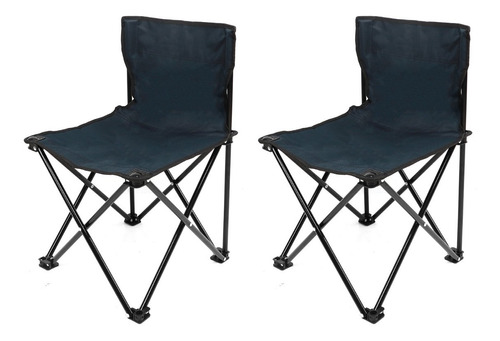Set 2 Sillas Plegables Para  Camping/playa/alberca Klatter