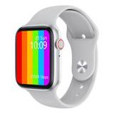Smartwatch Microwear W26 1.75  Caja De  Aleación De Zinc  Plateada