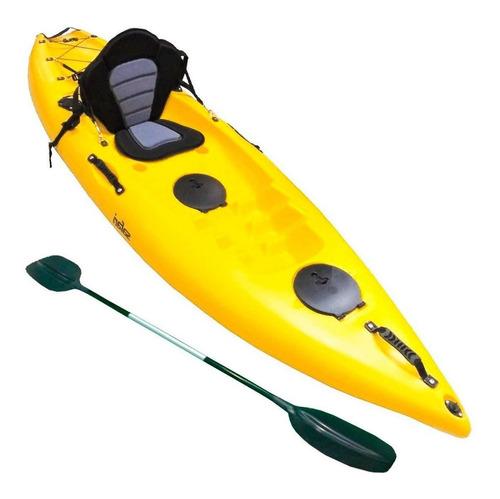 Bote Kayak Profesional C/asiento Remo Y Documentos - El Rey