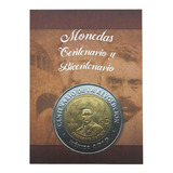 Álbum Para Monedas $5 Pesos Centenario Y Bicentenario México