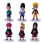 Kit 6 Action Figures Naruto 12 Cm Original