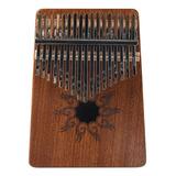 Kalimba - Patrón Musical De Madera De Pino (17 Tonos)