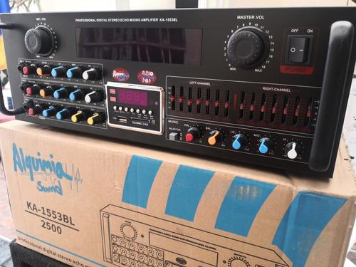 Amplificador Alquimia De 2500watts
