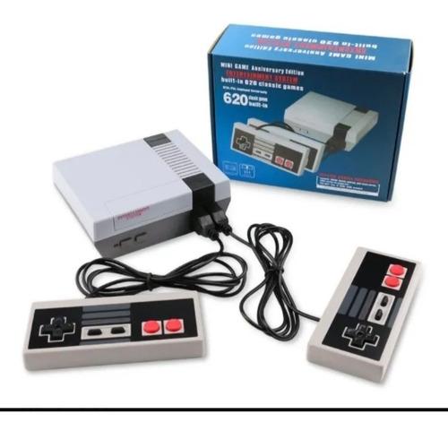 Mini Consola Retro Clásica 620 Juegos 2 Controle Videojuegos