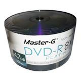 Dvd-r Master G 8x C/logo Platinum