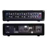 Cabezal Amplificado Lexsen Lxm4 4 Canales Efectos Loop 200w