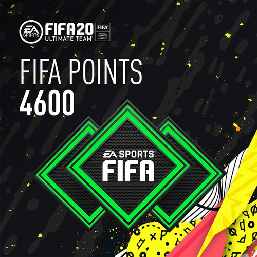 Fifa 20 4600 Fut Points Ultimate Team Código Original