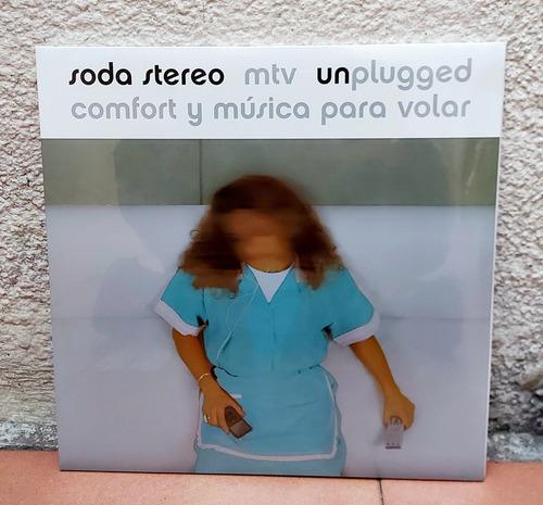 Soda Stereo - Mtv Unplugged (2 Vinilos Nuevo 2021)