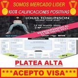 Entradas Louis Tomlinson 2021 - Platea Alta Primeras Filas !