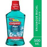 Enjuague Bucal Colgate Plax Ice Infinity 500ml