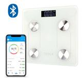 Balanza Pesa Inteligente Tedge Para Baño Con Bluetooth Y App