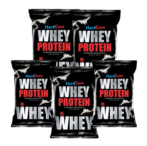 5 Kg De Whey Protein Proteína Hardcore Gold Quality