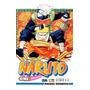 Livro Naruto Volume 3 Masashi Kishimoto Original