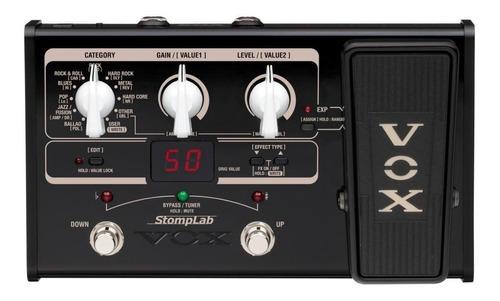Pedal De Fx Vox Sl2g Para Guitarra Electrica Multiefecto