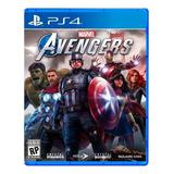 Marvel's Avengers Standard Edition Square Enix Ps4 Físico